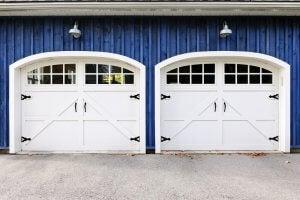 Double garage.