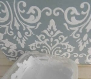 Plaster relief wall art.