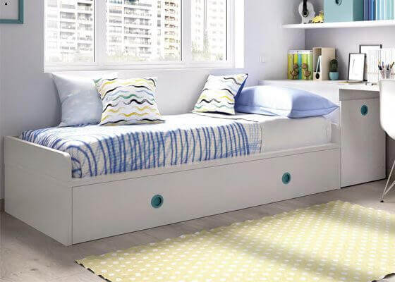 trundle bed place