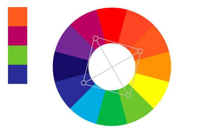 use color square color scheme