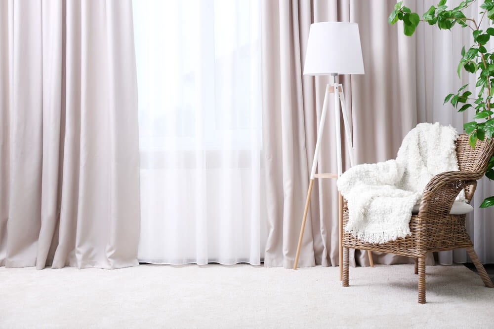 voile curtains uses