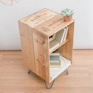 DIY storage unit.