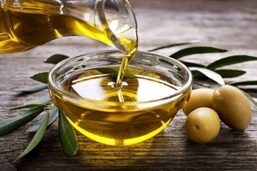 Olive oil is great for removing paint from metals.