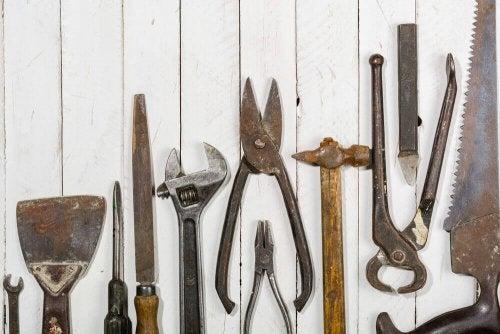 A set of tools.