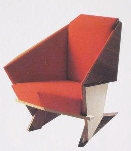The Taliesin armchair.