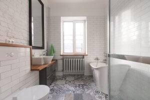 Renovating your bathroom - safety first.