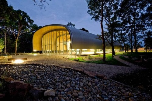 One of the most popular bioclimatic gyms in the world, located in Australia.
