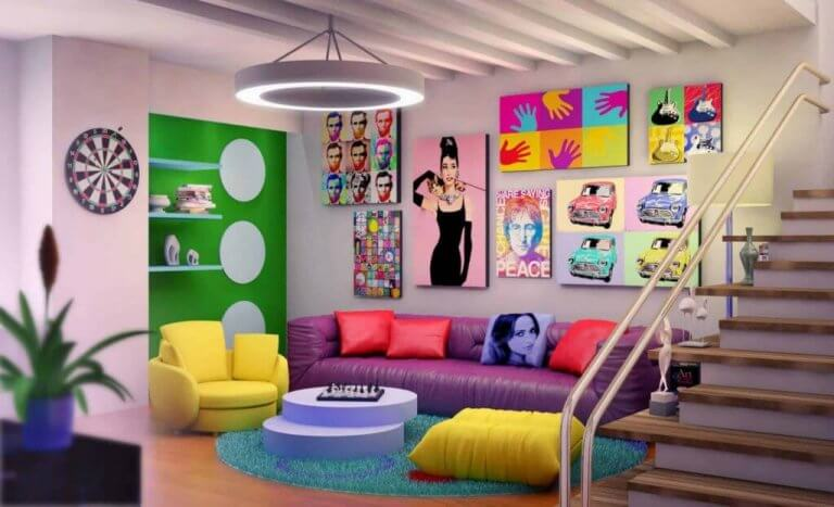 Decorating with the Colors of the Rainbow