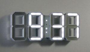 Modern wall clocks.