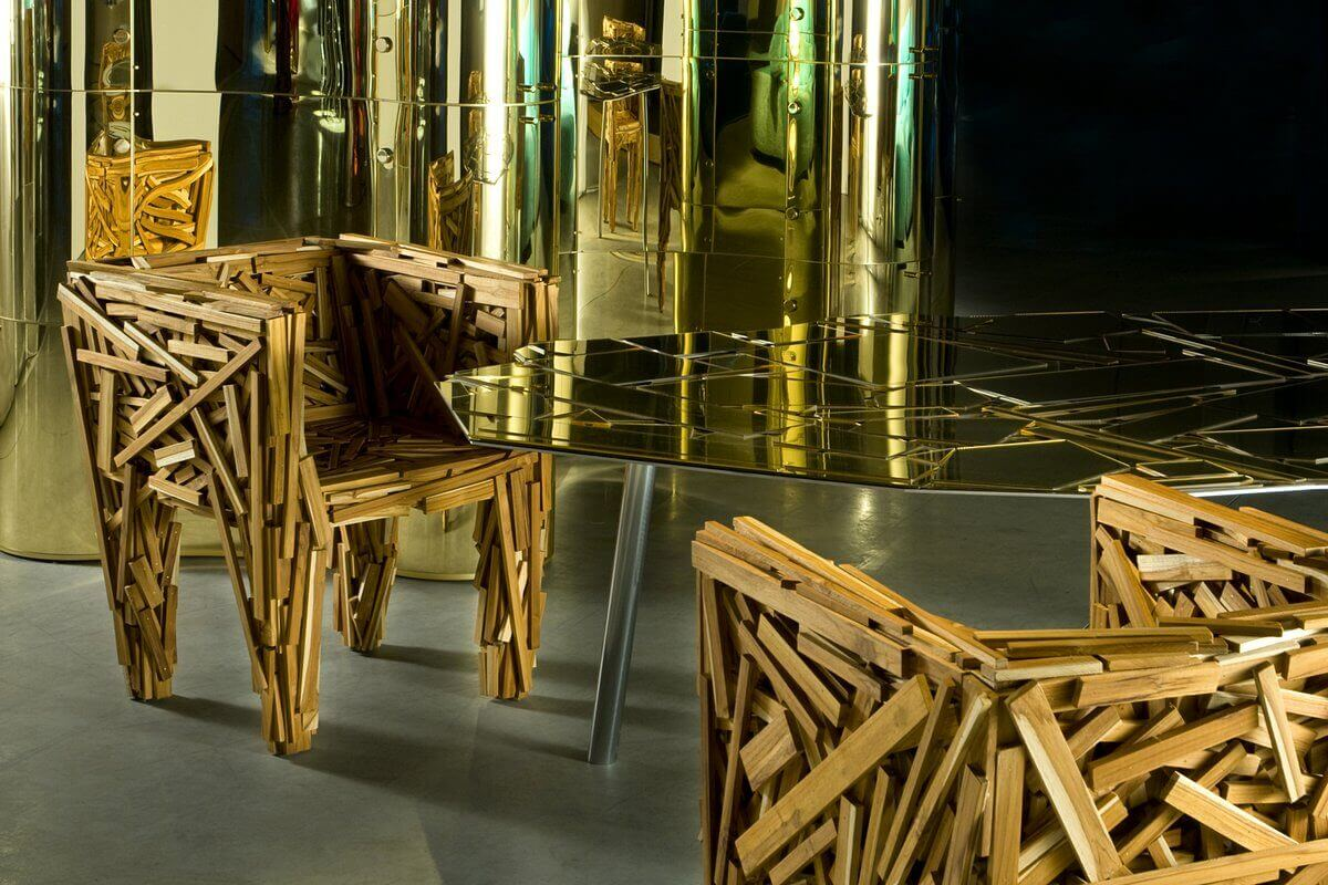 The favela chairs by the Campana brothers