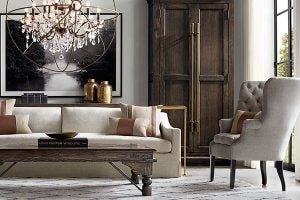 Kelly Hoppen loves using taupe in her designs.