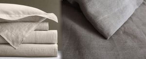 Linen is a light and breathable material.