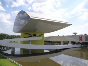 The Oscar Niemeyer Eye.
