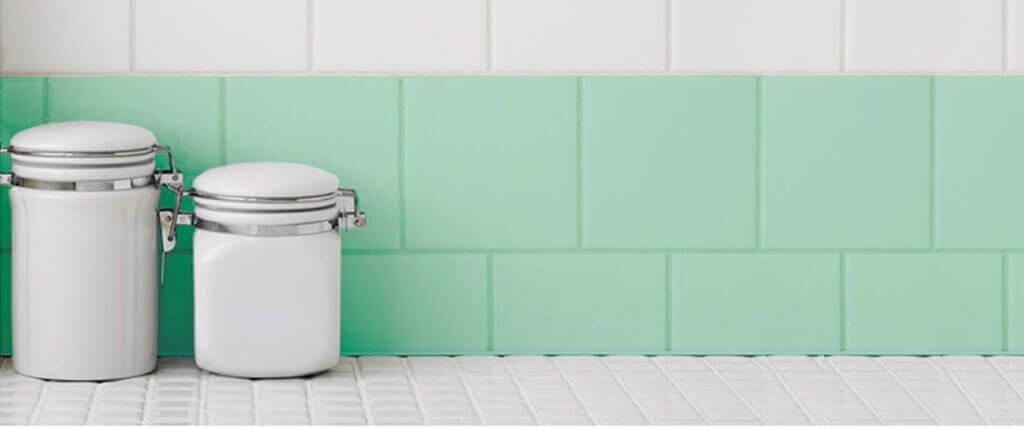 Repaint your tiles.