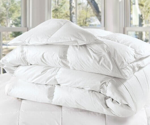 Be sure to look at the density when choosing a good comforter