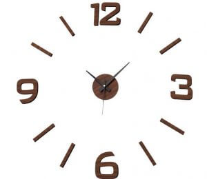 A simple wall clock.