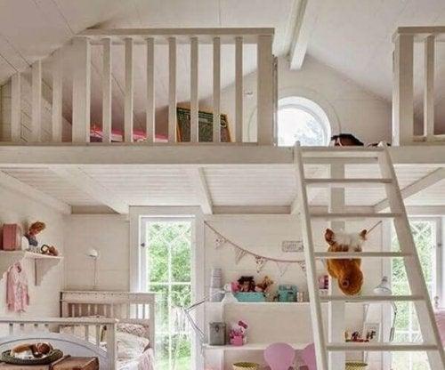 A loft for children.