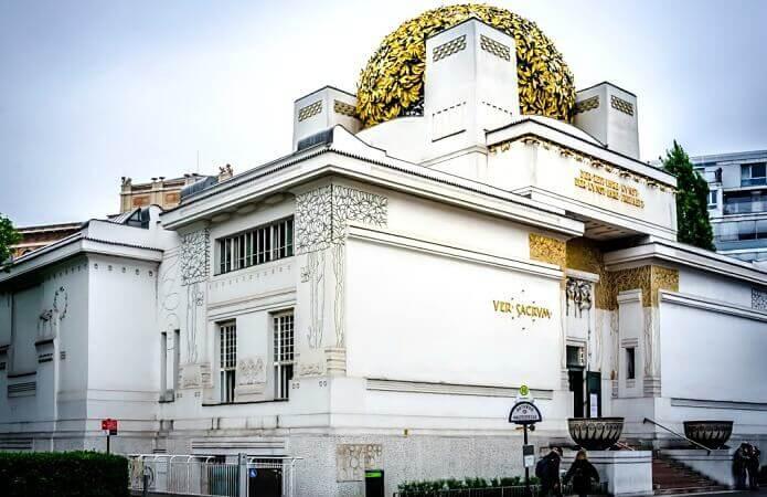 The Secession Building in Vienna.