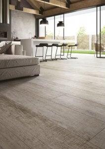 Wooden flooring.
