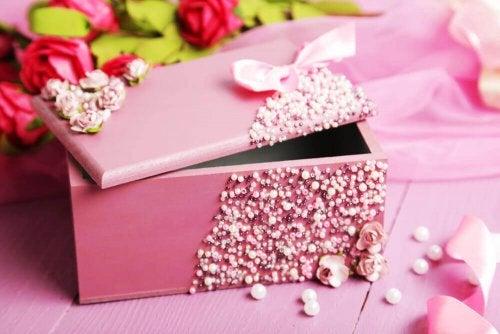 A decorative box.