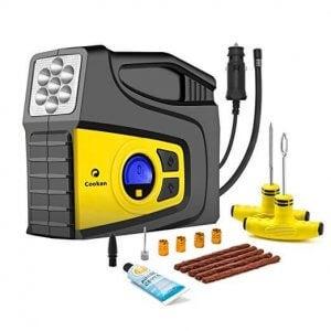 Digital air compressor.