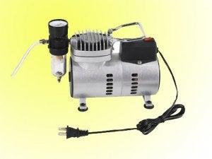 Electric compressor.