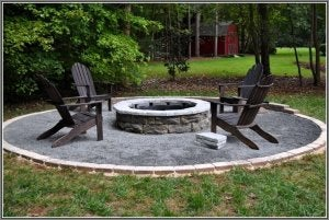 Consider the layout of your fire pit.