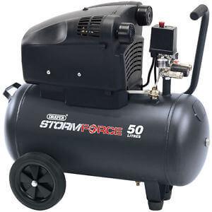 Professional air compressors.