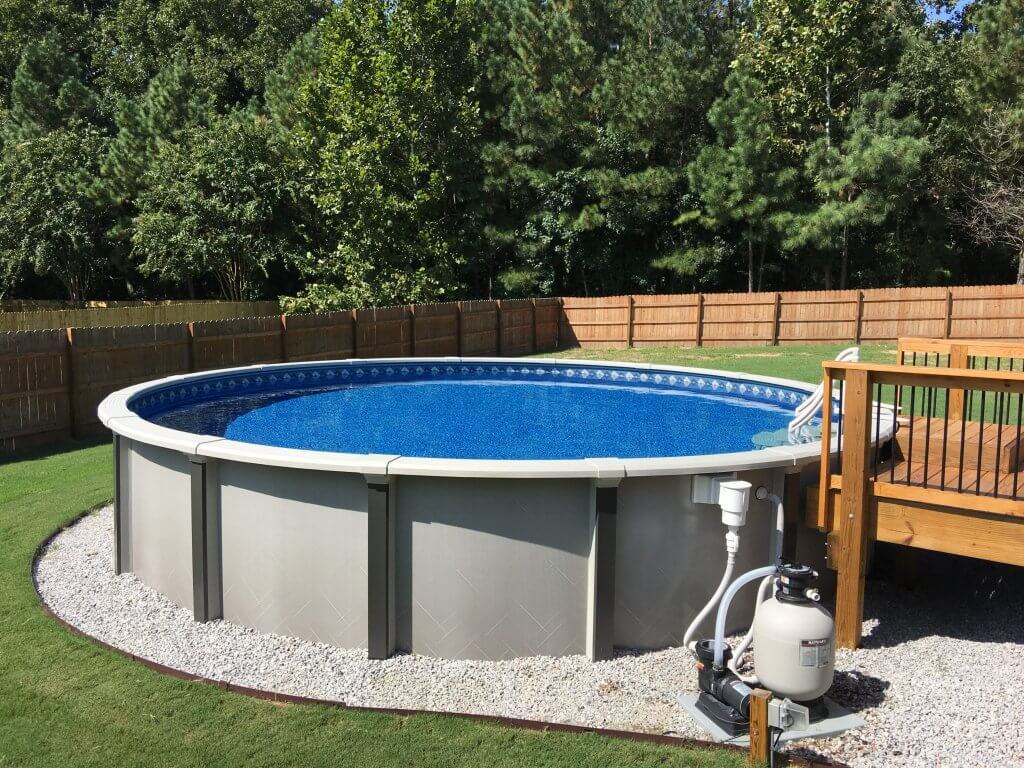 How to Set Up an Above Ground Swimming Pool