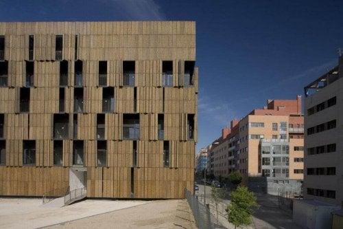 Bamboo Housing.