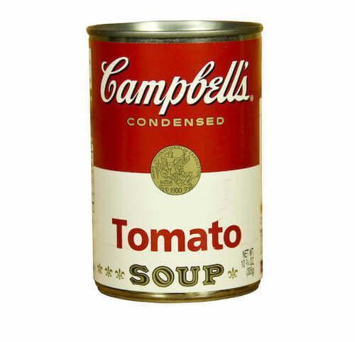 campbells tomato can
