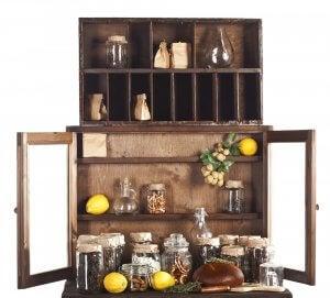 A cupboard.
