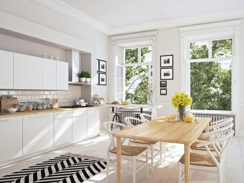 A Nordic kitchen.
