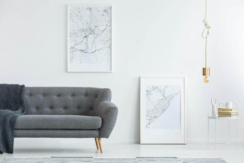 How to Decorate with Maps