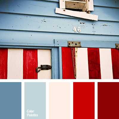 Marine color palette.