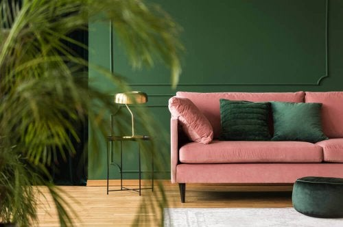 Pink and Green – Two Trendy Room Colors