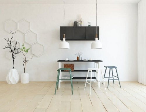 Scandinavian furniture.