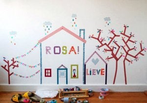 Make the walls in your children's room come alive to reflect their personalities!