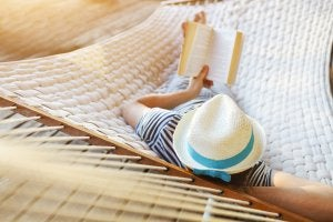 Read a good book as an alternative to watching TV.
