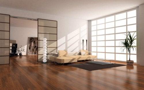 Zen living room.