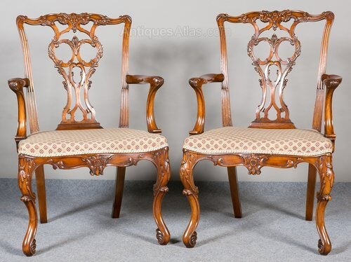 Chippendale chair.