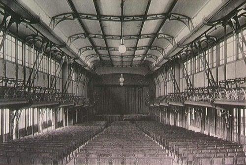 The interior of la Casa del Pueblo