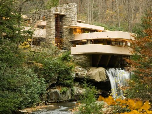 Homes Integrated Into the Landscape