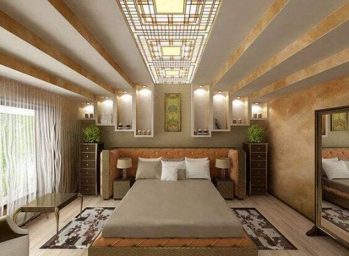 Art Deco Bedrooms Are An Example Of Glamour And Bold Style