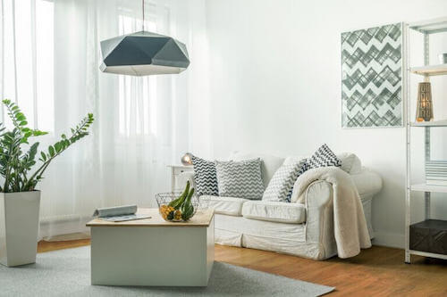 Turn Your Small Living Room Into a Light Space
