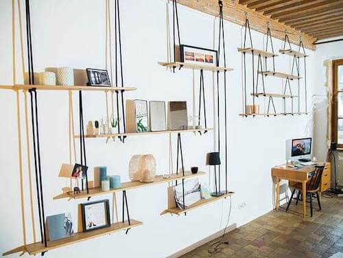 5 Types of Hanging Shelves