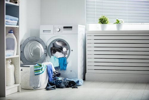 layout laundry room