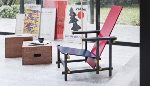 The Red and Blue Chair - A Furniture Design Icon