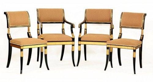 Regency chair.