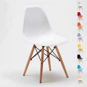 The DSW chair, a piece of furniture designed by architects.